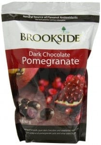 brookeside dark chocolate pomegranate seeds