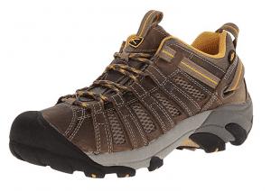 KEEN Voyageur Hiking Shoe amber
