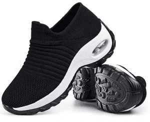 Slow Man Mesh, Slip-on Loafers black